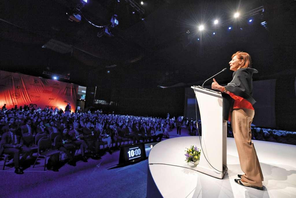 Clouthier inauguró ayer el congreso de la UP que se lleva a cabo durante tres días.FOTO: VÍCTOR GAHBLER