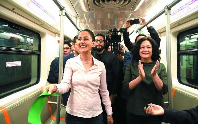 Los 683 mil usuarios diarios de la Línea 1 disfrutarán de dos nuevas unidades.FOTO: LESLIE PÉREZ