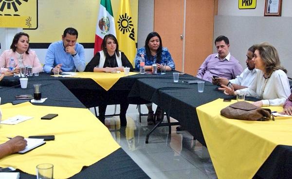El PRD llamó a los demás partidos políticos a sumarse al proyecto de gobierno que están construyendo para Puebla. Foto: Especial