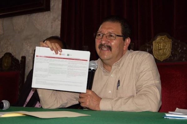 Reginaldo Sandoval, coordinador del PT. Foto: @ReginaldoSF_PT