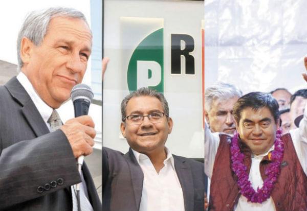los principales partidos políticos tienen dentro a sus adversarios, que evidencian descontento sobre la selección de sus candidatos. FOTO: ESPECIAL