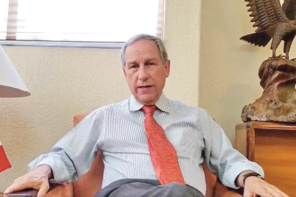 Cárdenas Sánchez dijo que representa una candidatura netamente ciudadana.FOTO: ESPECIAL