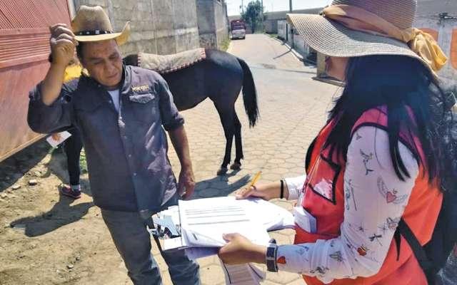 El INE de Puebla seleccionó a ciudadanos de todo el estado cuyo apellido empieza con la letra a para ser funcionarios de casilla. FOTO: ESPECIAL
