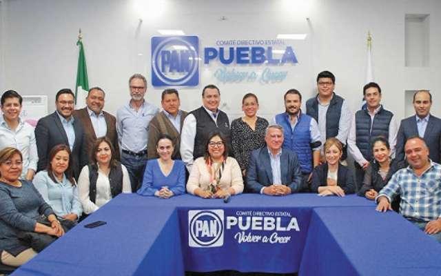 En pleno proceso electoral, el PAN designó al secretario.FOTO: ESPECIAL