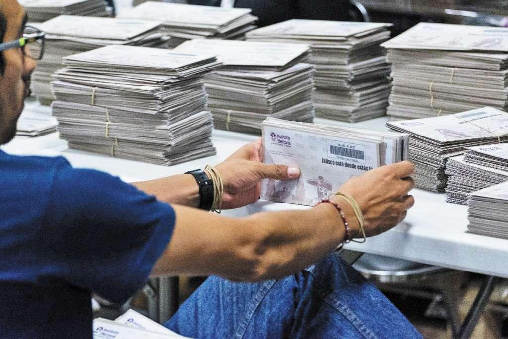 El INE invitó a electores a ejercer su derecho a votar.FOTO: CUARTOSCURO