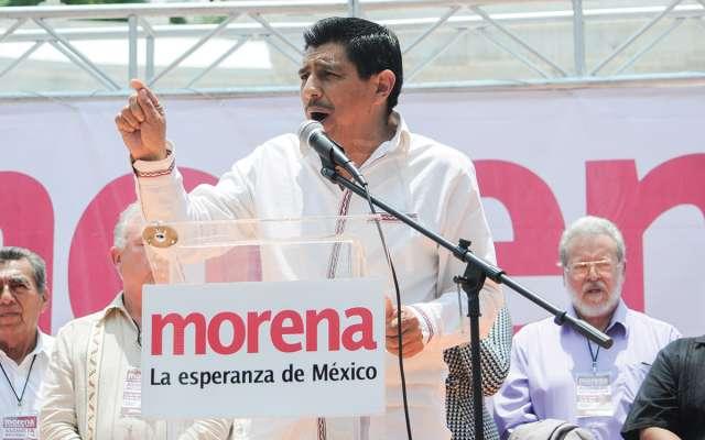 Salomón Jara, vocero de Morena en el Senado, pide a las firmas dictaminar con base en datos ciertos.FOTO: CUARTOSCURO