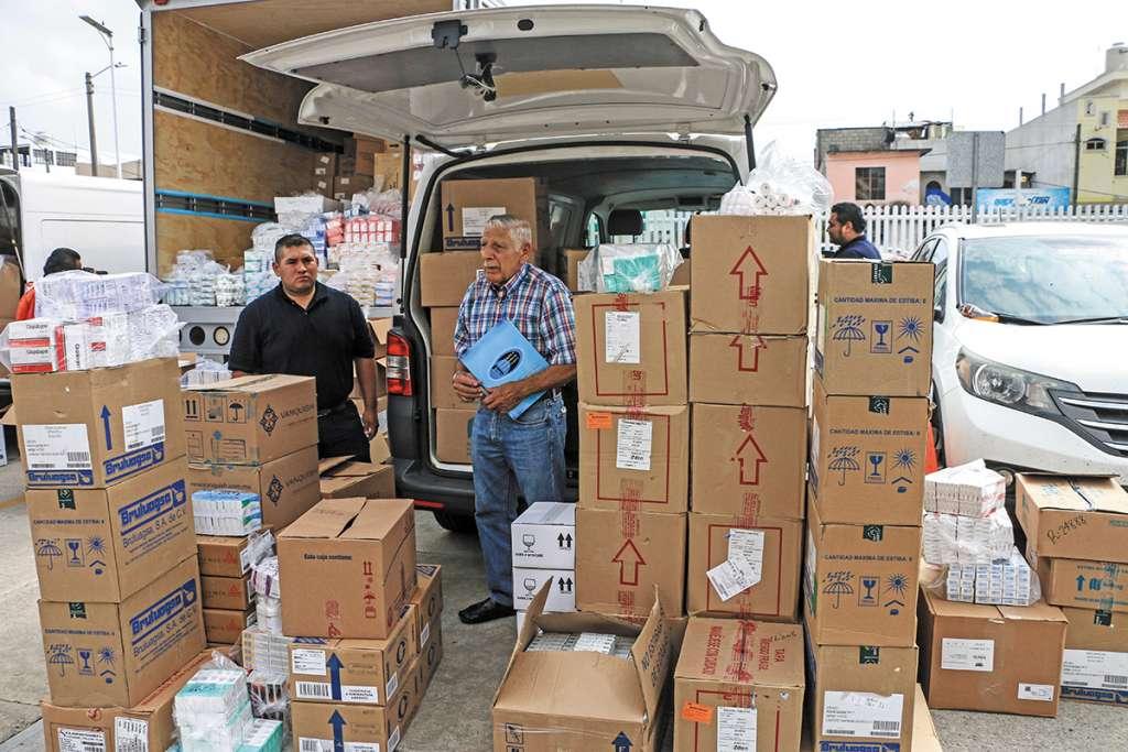 Hacienda también dio a conocer que el gobierno federal pagó 32 mil 265.3 millones de pesos en material de curación. FOTO: ESPECIAL