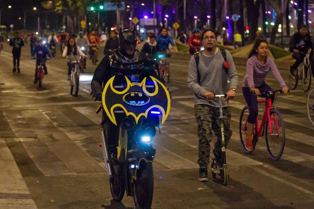 Los asistentes podrán recorrer más de 18 kilómetros a bordo de sus bicicletas. Foto: Cuartoscuro