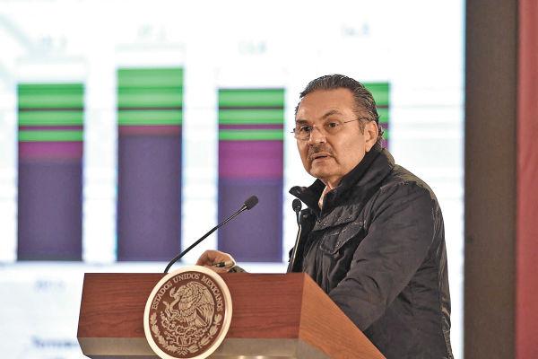 VASTO. Octavio Romero Oropeza anunció un ambicioso plan de impulso petrolero. Foto: Pablo Salazar