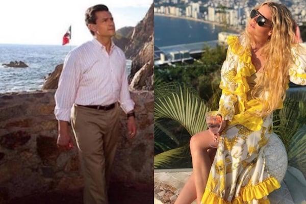 Enrique Peña Nieto fue captado en videos junto a Tania Ruiz.