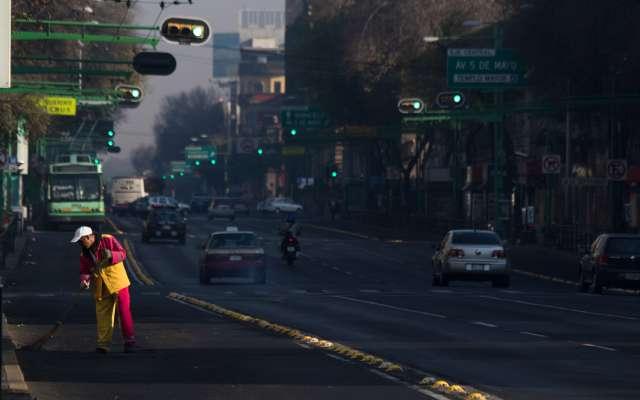 El Eje Central Lázaro Cárdenas será una de las avenidas que recibirán mantenimiento. Foto: Cuartoscuro