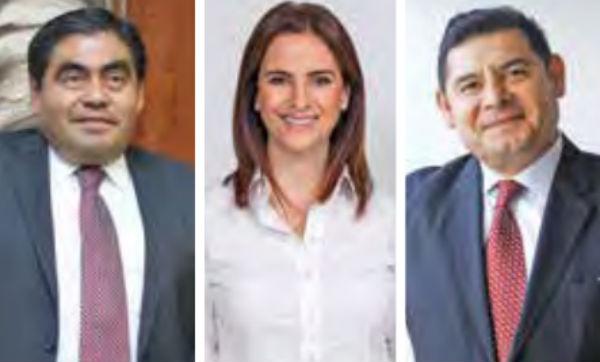 Los precandidatos se manifestaron satisfechos con los términos de la encuesta.FOTO: EL HERALDO DE MÉXICO