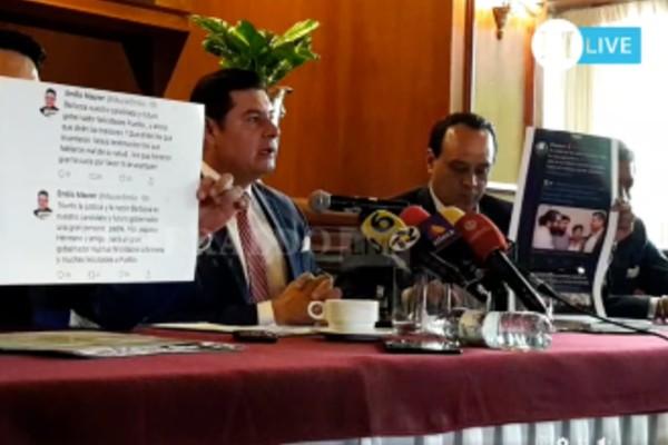 Alejandro Armenta impugnará los resultadosde la encuesta de Morena para la gubernatura de Puebla: EN VIVO