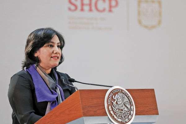 SECRETARIA. Irma Eréndira Sandoval es la titular de la Función Pública y aseguró que han trabajado duro. FOTO: NOTIMEX