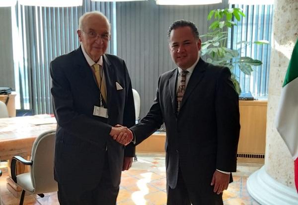 El titular de la UIF,Santiago Nieto, dio a conocer que en la serie fue financiado presuntamente bajo un esquema de transferencias que realizaron empresas relacionadas con elPRI. Foto: Twitter