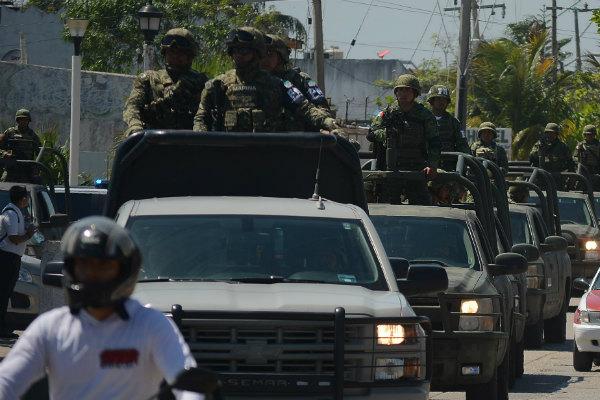 Sin embargo, aseguró que se registra una reducción de la violencia gracias a operativos focalizados en la frontera