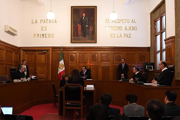 Segunda Sala de la Suprema Corte de Justicia de la Nación en sesión. FOTO: CUARTOSCURO