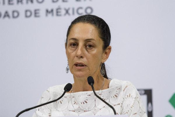 La jefa de Gobierno, Claudia Sheinbaum, precisó en conferencia de prensa sobre la ubicación de las escaleras