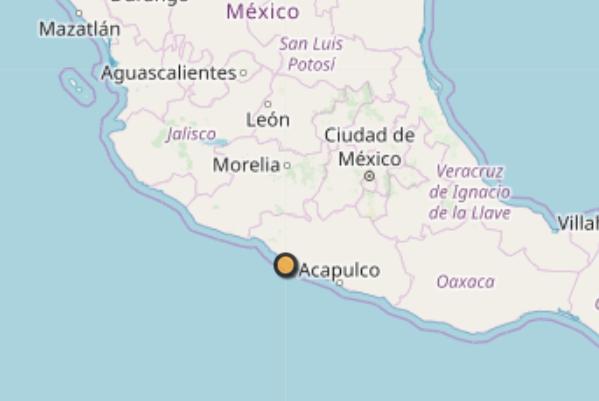 El temblor ocurrió a las 10:17 horas de este miércoles, informó el Servicio Sismológico Nacional. Foto: SSN