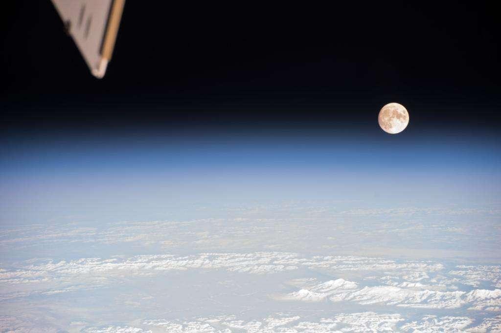 Es la primera Superluna que coincide con el equinoccio de primavera desde hace dos décadas. Foto: NASA
