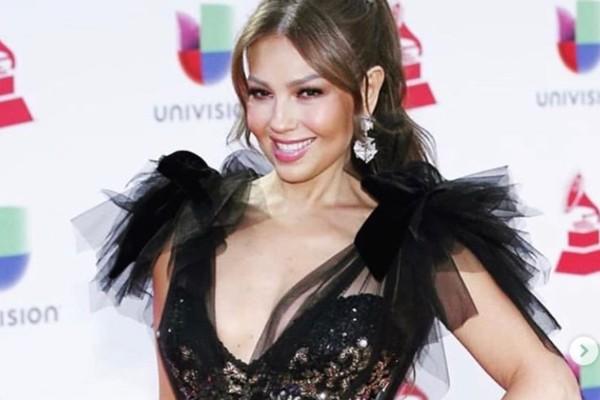"""Maluma y Thalía colaboraron juntos en el sencillo """"Desde Esa Noche"""". Foto: Instagram"""