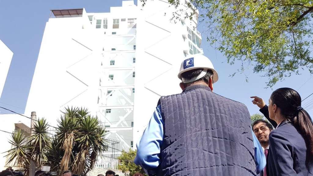 César Cravioto afirmó que  en dos años entregarán las reconstrucciones de todos los inmuebles dañados en el sismo de 2017. Foto: @craviotocesar