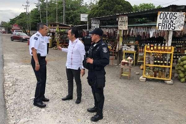 Luego de coordinar el operativo de la Policía Estatal y la Fuerza Civil, el Gobernador de Veracruz anunció que combatirán la inseguridad que se vive en el estado. Foto: Especial