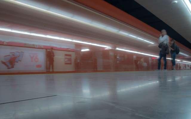 La Línea 1, que va de Pantitlán a Observatorio, presenta servicio normal. Foto: Cuartoscuro
