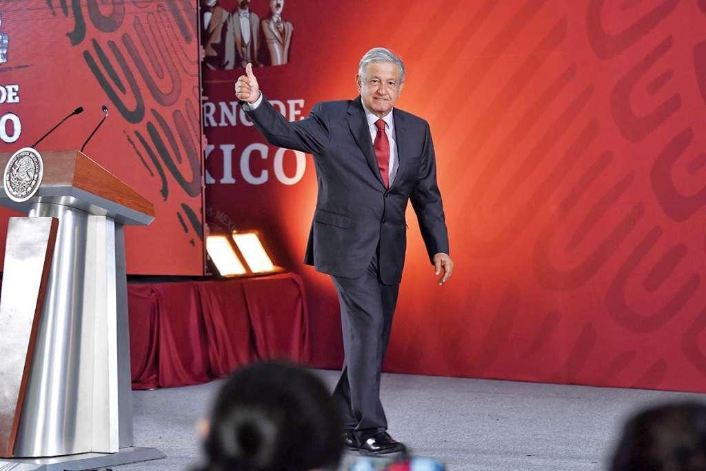 El Presidente dijo que la política neoliberal de otros gobiernos hundió al país.FOTO:ESPECIAL