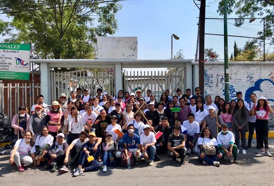 Los Promotores de la Paz tienen el objetivo de contribuir y fomentar la recuperación de espacios públicos con acciones que mejoren la convivencia y la calidad de vida de los vecinos. Foto: Especial