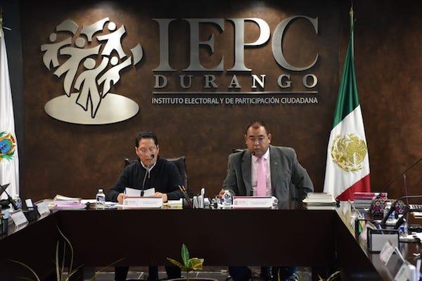 Sesión extraordinaria del  IEPC de Durango. Foto: Ignacio Mendívil