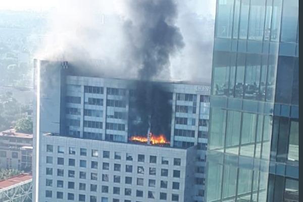 Resultado de imagen para incendio en conagua
