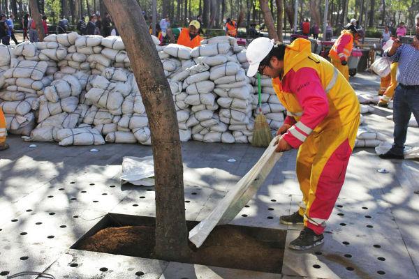 Barrio Alameda gestionó la donación de tierra con la organización del festival realizado entre el 9 y el 12 de marzo. Foto: Especial