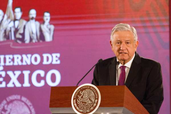 AMLO aseguró que con Zedillo, elFobaproa convirtió deudas privadas en públicas. Foto: Cuartoscuro