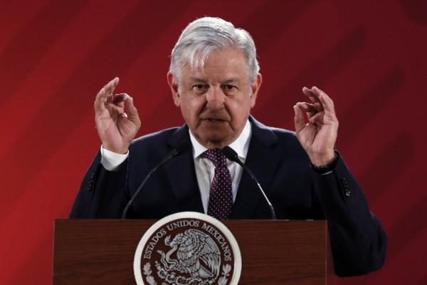 """El Presidente ha llamado la atención de los mexicanos por frases como """"Me canso, ganso"""". Foto: Notimex"""