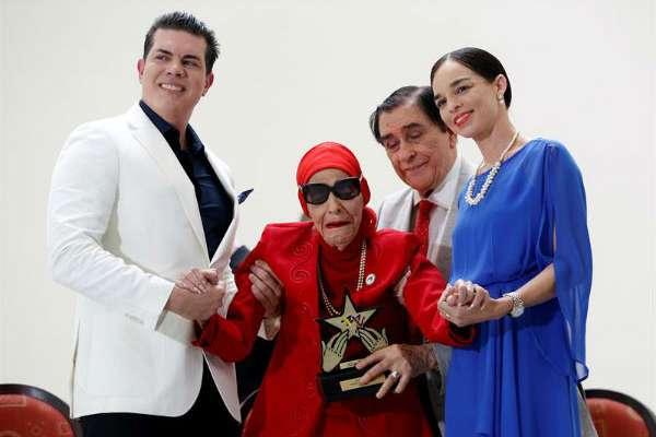Se trata de la primera vez que el ILM concede el reconocimiento de Estrella del Siglo a una bailarina. EFE