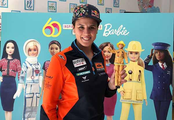 Laia fue seleccionada como una de las mujeres más inspiradora para los niños que participaron en la campaña. FOTO: TWITTER
