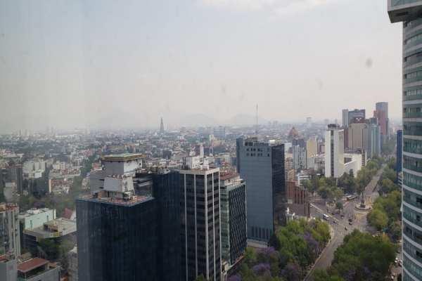 El viento débil y cielo despejado son factoresdesfavorables para la dispersión de contaminantes. Foto: Luis Hernández