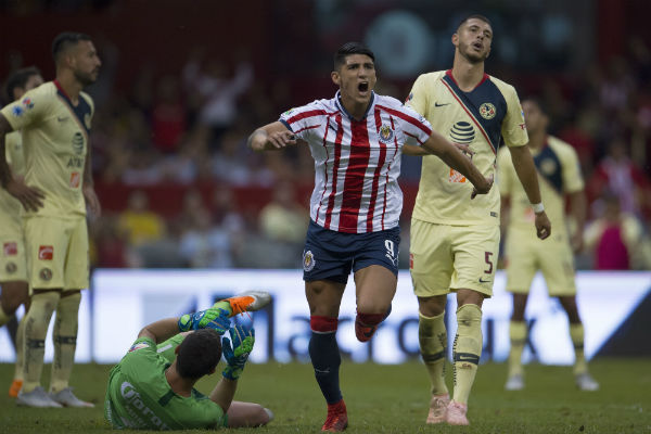 RECUERDO. En el Apertura 2016, el Rebaño eliminó al América en el Azteca; Pulido, anotó. Foto: MEXSPORT