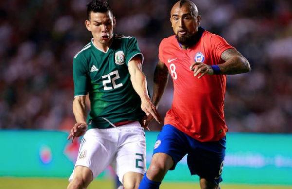 El Chuky jugará junto a Raúl Jiménez y Pizarro esta noche ante Chile. FOTO: ESPECIAL