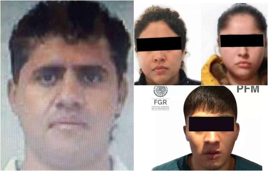 Marinos ubicaron y detuvieron a Diana Karen, Samantha y a Mauricio, sin que hubiera uso de violencia