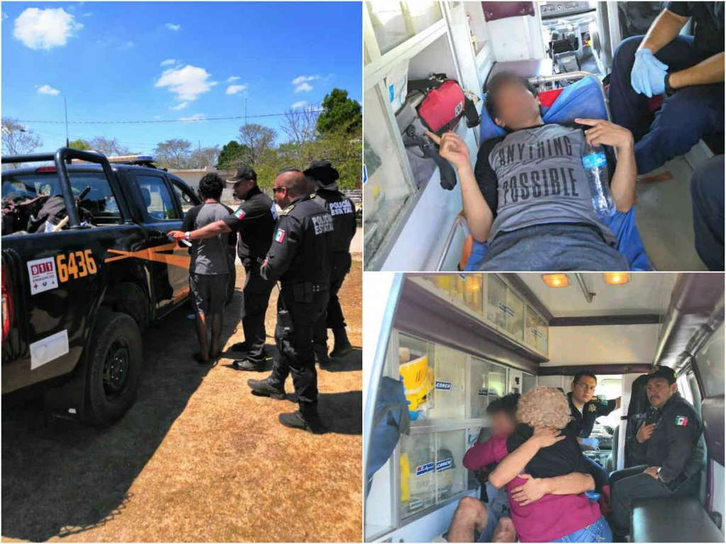 Tan pronto se reportó la desaparición por parte de docentes y familiares, la Policía estatal montó un operativo con otros cuerpos de seguridad