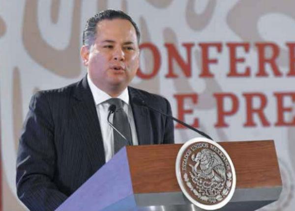 LABOR. Santiago Nieto, titular de la Unidad de Inteligencia Financiera de la Secretaría de Hacienda busca combatir los delitos con recursos de procedencia ilícita. Foto: Especial
