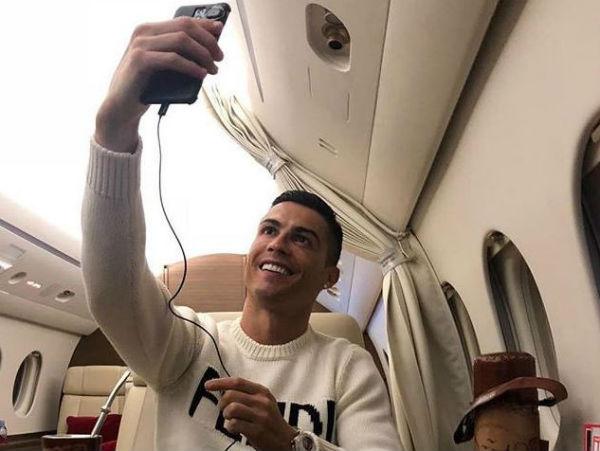 Con memes y GIF los twitteros hicieron burla de las posibles reacciones que el jugador portugués. Foto: @Cristiano