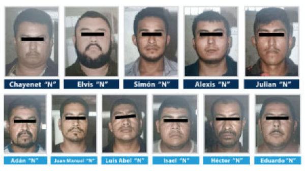 Los presuntos delincuentes están relacionados a delitos como el robo de vehículos, homicidios y secuestros exprés. FOTO: ESPECIAL