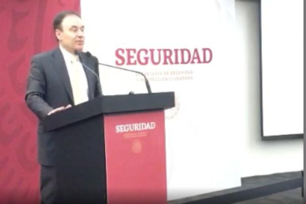 Alfonso Durazo preside la conferencia Paz y Seguridad: EN VIVO