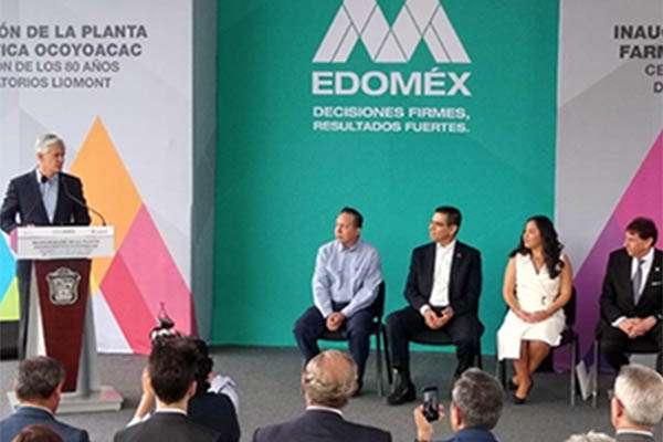 La apertura de esta planta de Liomont, dijo, robustece la red de distribución de empresas, pues cuenta con las infraestructuras más modernas que existen en México.