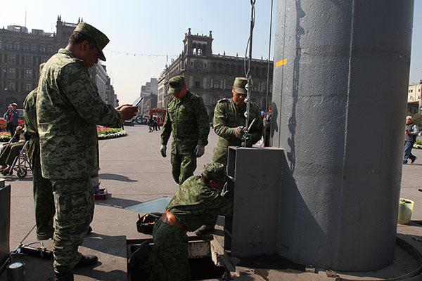 Durante cinco años el Presidente podrá disponer de las Fuerzas Armadas en tareas de seguridad pública de manera extraordinaria. FOTO: NOTIMEX