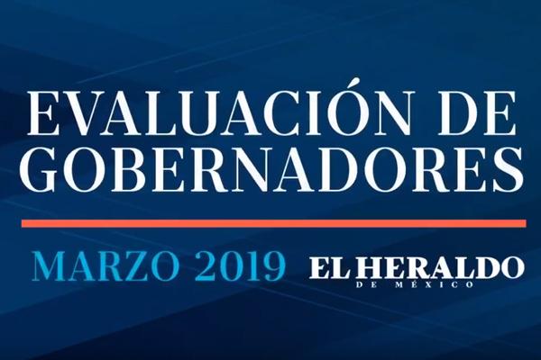 Encuesta de gobernadores, marzo 2019: Capacidad, integridad y honestidad