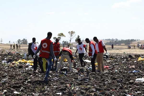 En el accidente habían cuatro pasajeros que viajaban con pasaporte de la ONU. FOTO: AFP